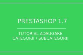 prestashop-1.7-adaugare categorii