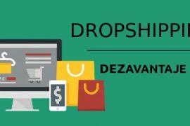 Dezavantaje Dropshipping